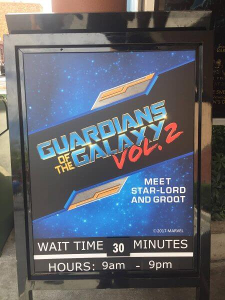 """Guardians of the Galaxy"" at Disney's Hollywood Studios"