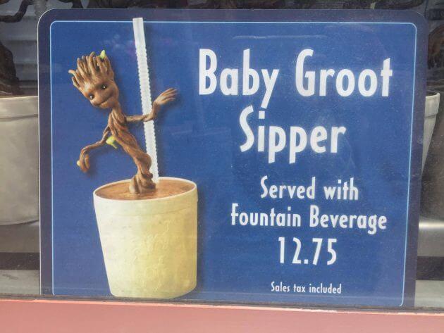 Baby Groot Sipper