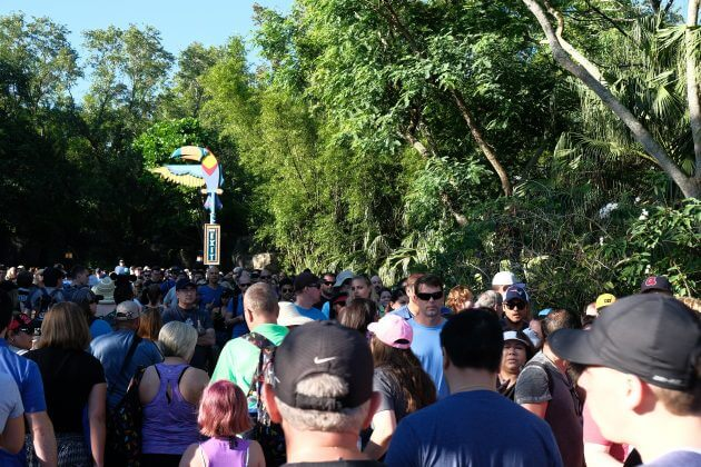 Massive Opening Day Line for 'Pandora