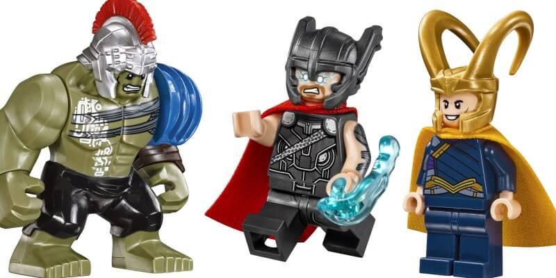 """LEGO reveals new """"Thor: Ragnarok"""" building sets with ..."""