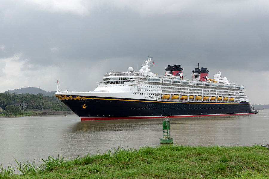 Disney Wonder Cruise Ship Becomes First Passenger Carrier Ever To - History of cruise ship industry