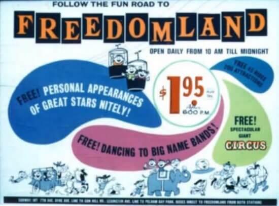 Freedomland poster
