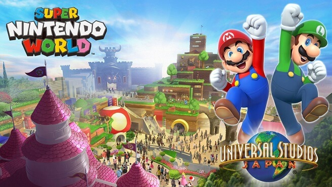 Nintendo files trademark for Super Nintendo World amusement park