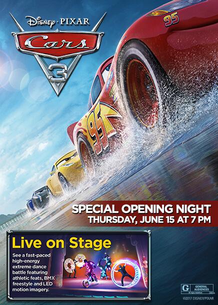 "Disney-Pixar's ""Cars 3"" screenings headed to El Capitan ..."