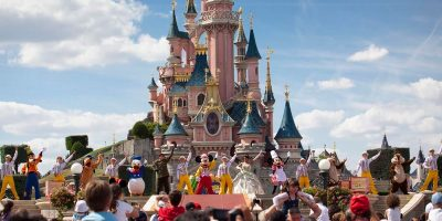 Sleeping Beauty Castle Stage Show - Disneyland Paris