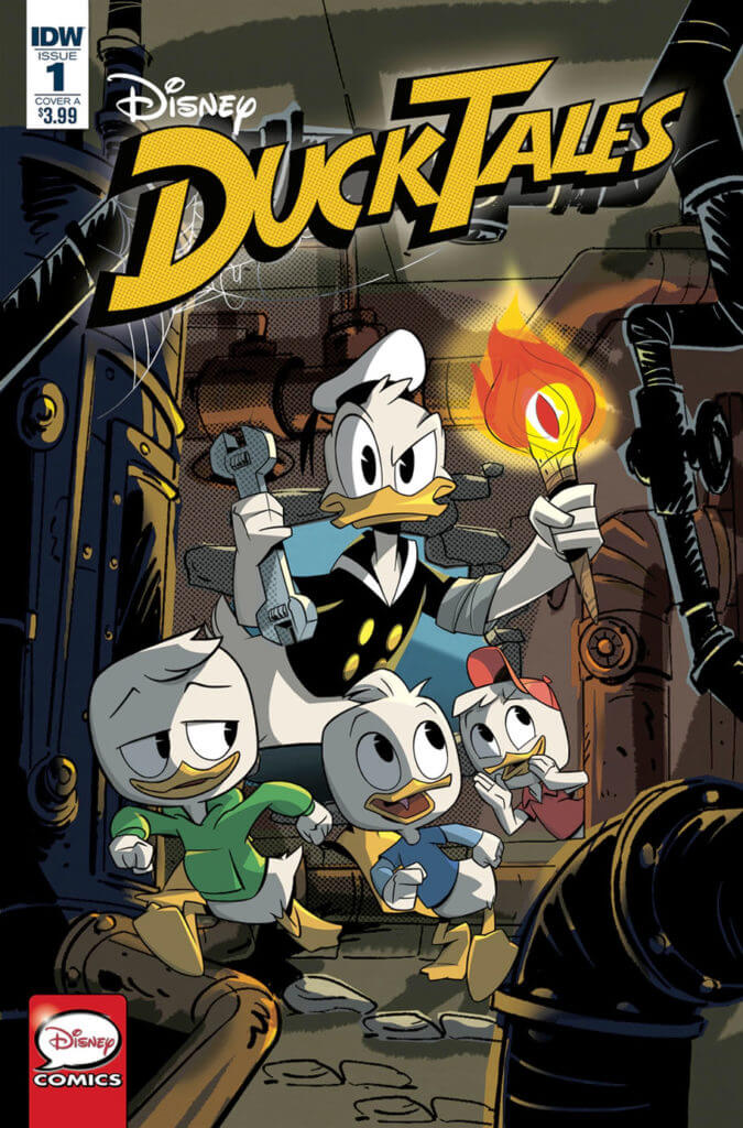 Image result for ducktales issue 1