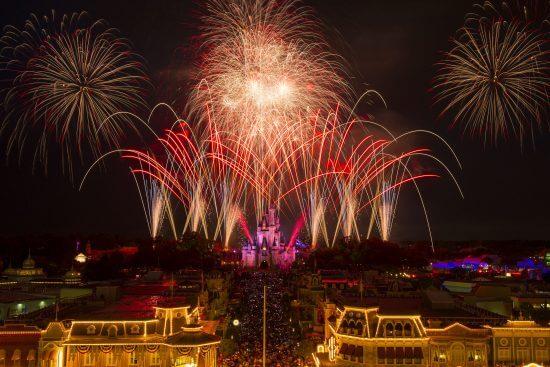 magic kingdom fourth of july fireworks