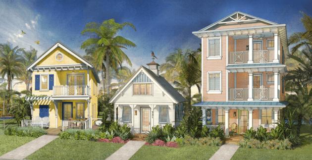 Margaritaville Resort Orlando concept art