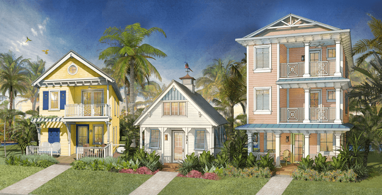 First look margaritaville resort orlando reveals carefree for Vacation home builders