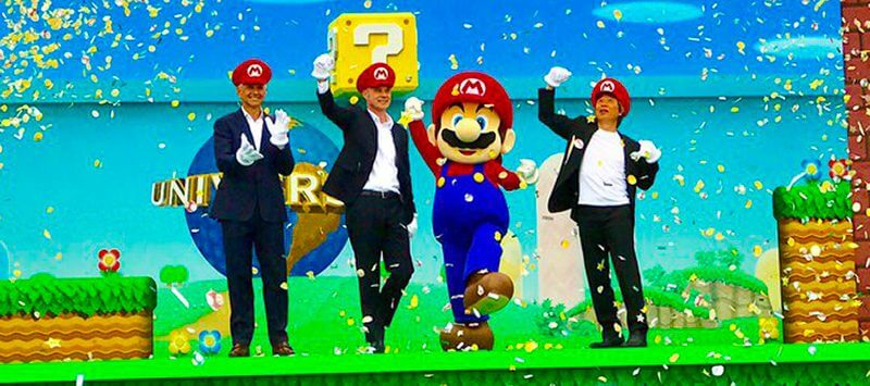 Video mario kart ride announced for super nintendo world at video mario kart ride announced for super nintendo world at universal studios japan set to open in 2020 publicscrutiny Choice Image