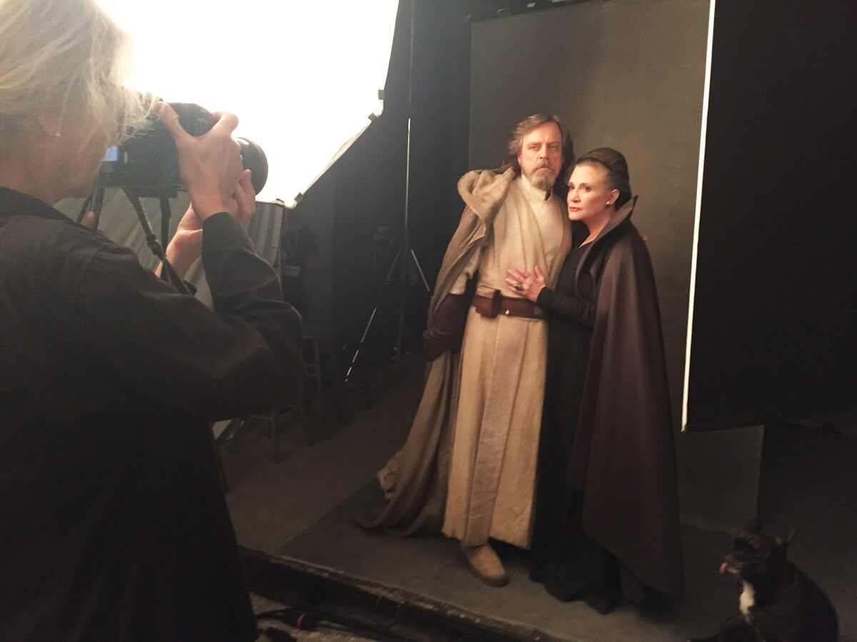 Photos Behind The Scenes Of Vanity Fair S The Last Jedi Annie Leibovitz Photo Shoot With Star Wars Cast Inside The Magic