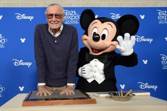 STAN LEE & MICKEY MOUSE