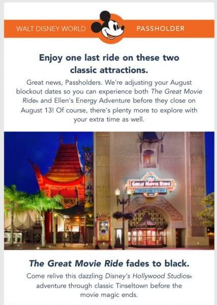 Disney blockout dates in Australia