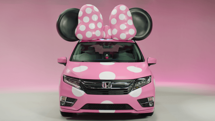 Honda Creates 'Minnie' Van For Disney Expo