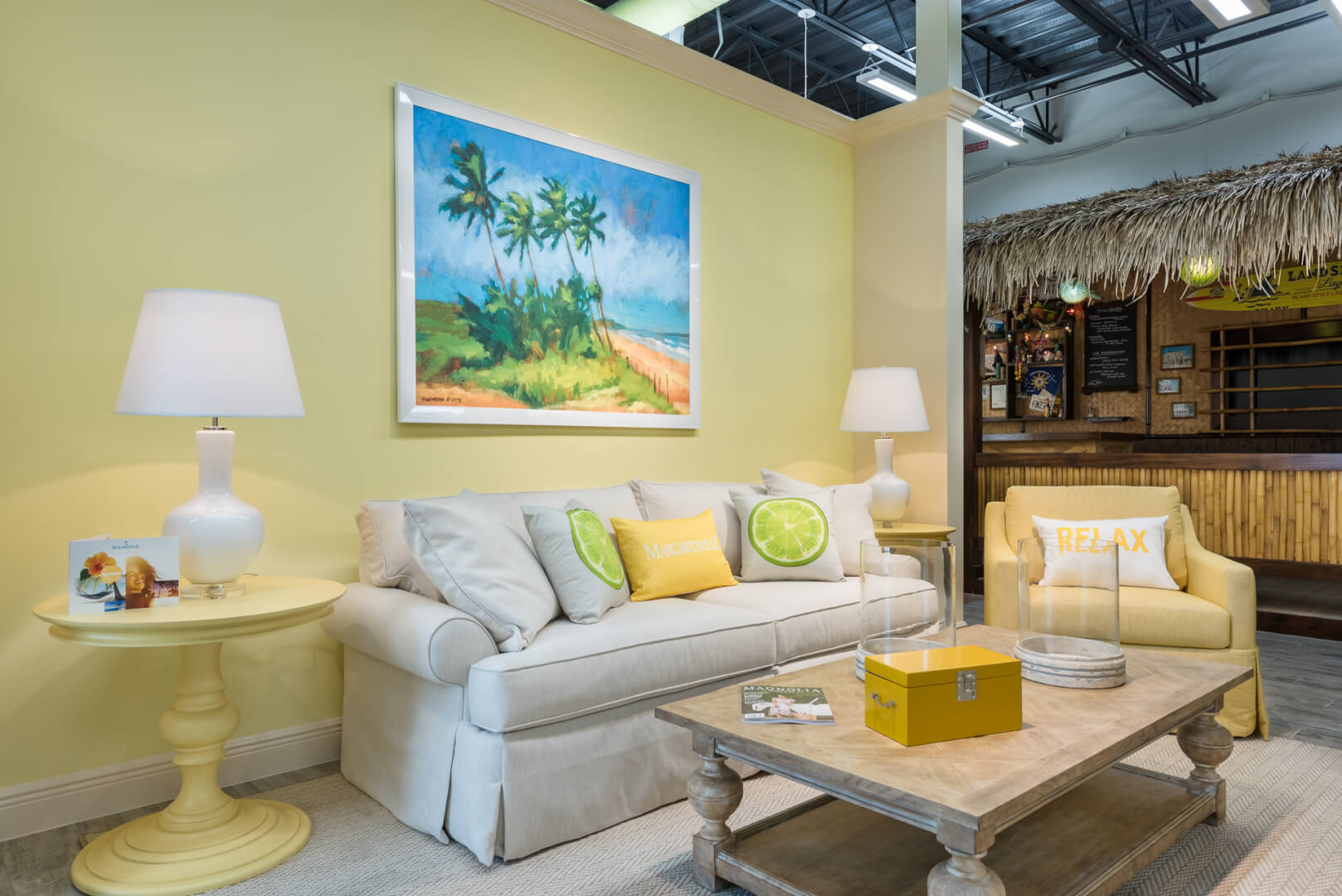 Margaritaville resort orlando introduces chic ethan allen furniture collections for vacation for Hotel bedroom furniture packages