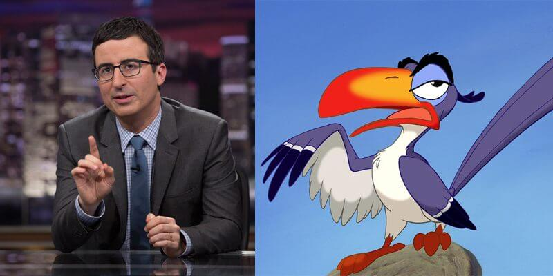 John Oliver joins the cast for The Lion King remake