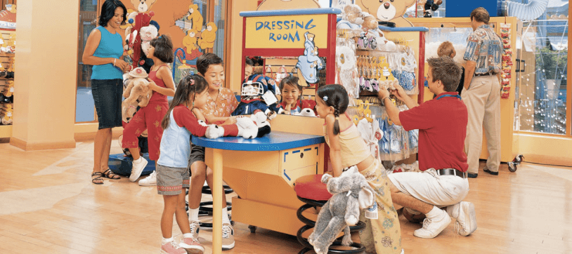 Build A Bear Downtown Disney Closing