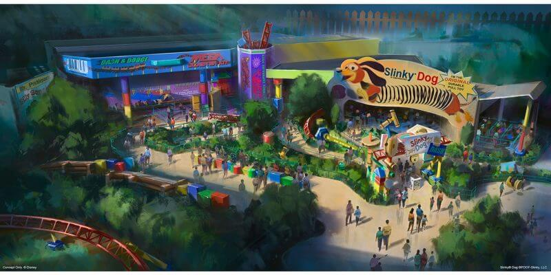 Image result for toy story land disney world
