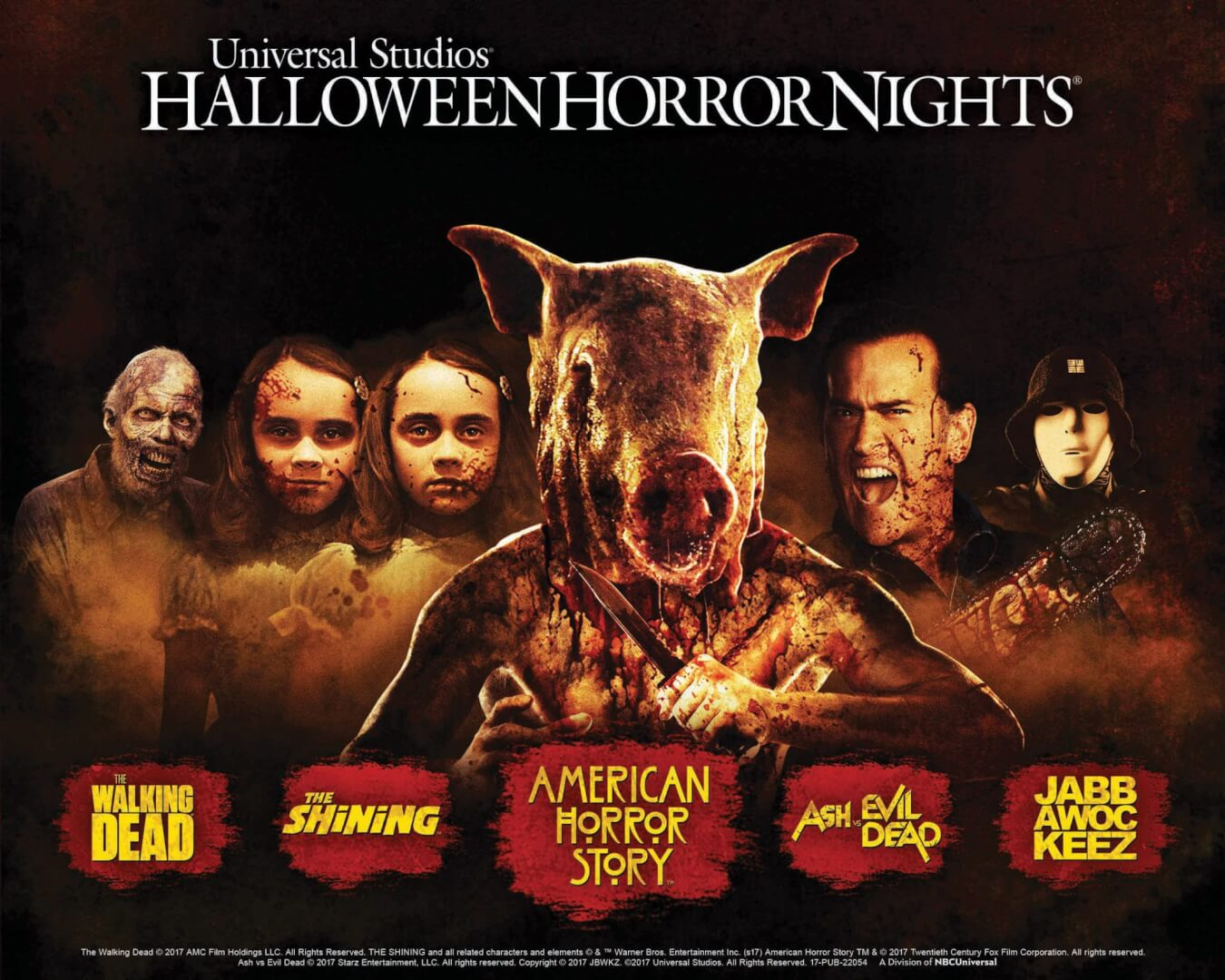 Universal Studios Halloween Horror Nights @ Universal Studios | Universal City | California | United States