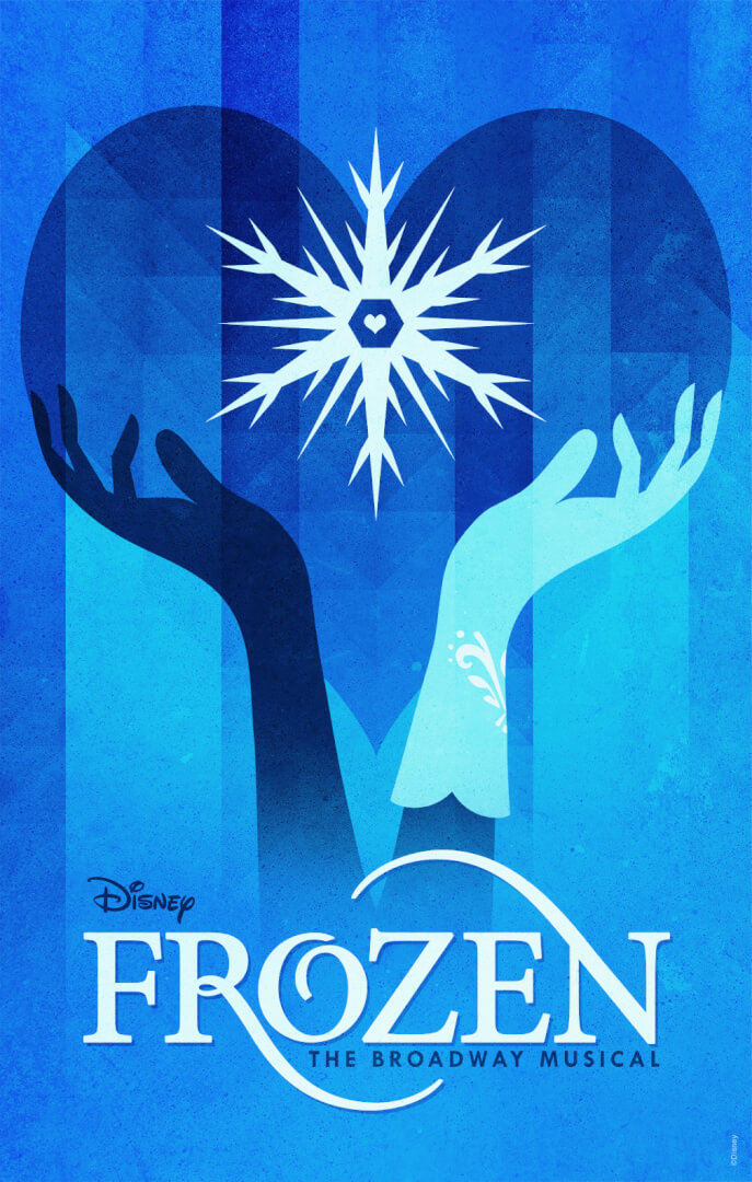 Frozen Broadway Musical Poster Revealed Along With 7 Rejected Ideas Inside The Magic