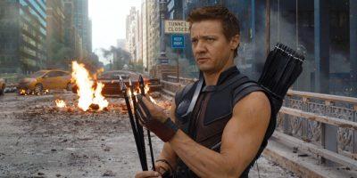 Jeremy Renner as Clint Barton aka Hawkeye in Avengers