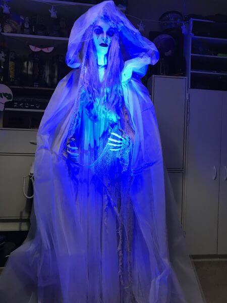 Homemade Haunted Mansion Bride