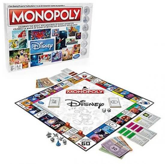 Disney Animation Monopoly