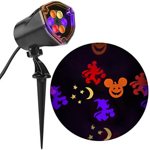 Disney Mickey Led Halloween Outdoor Stake Light Projector