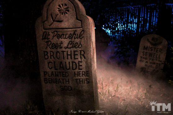 Claude Coats Haunted Mansion headstone