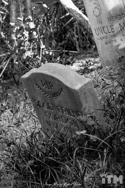 Gordon Williams Haunted Mansion headstone