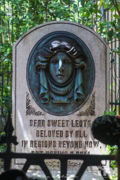 Leota Tombs Haunted Mansion headstone