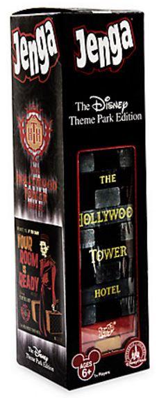 Hollywood Tower Hotel Jenga