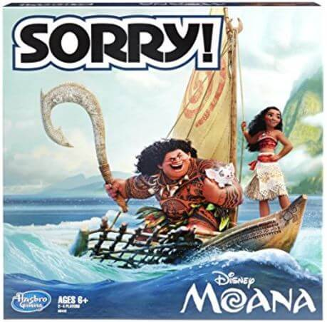 Disney Moana Sorry Game