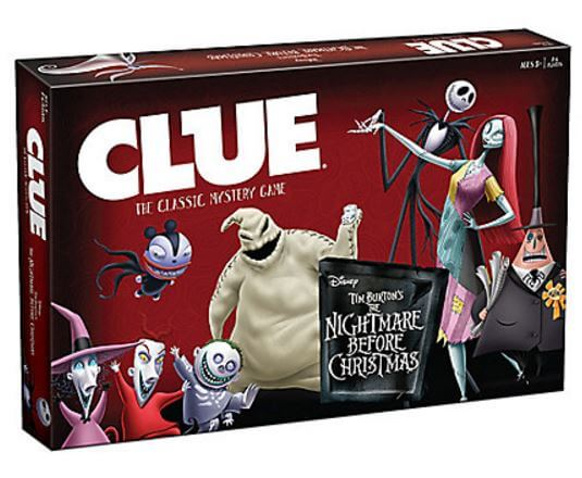 Nightmare Before Christmas Clue