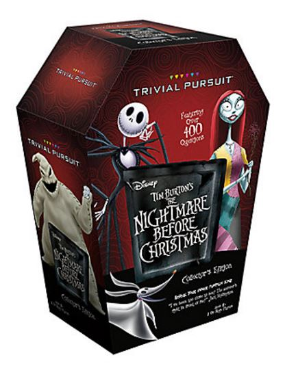 Nightmare Before Chistmas Trivial Pursuit Game