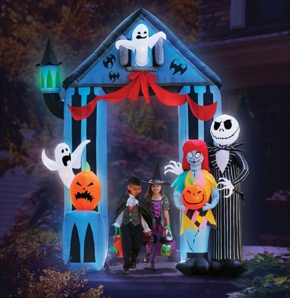 Nightmare Before Christmas Archway yard decoration