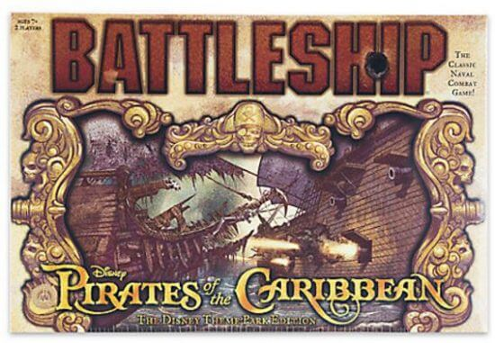 Pirates of the Caribbean Battleship