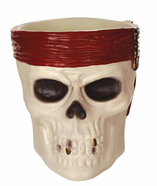 Pirates of the Caribbean Skull Candy Bowl