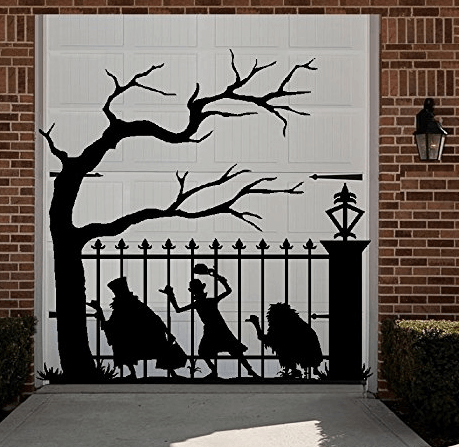 Haunted Mansion Hitchhiking Ghost Decal