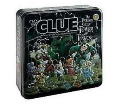 Tower of Terror Clue Game