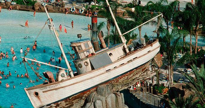 typhoon lagoon shipwreck