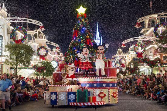 disney world holidays