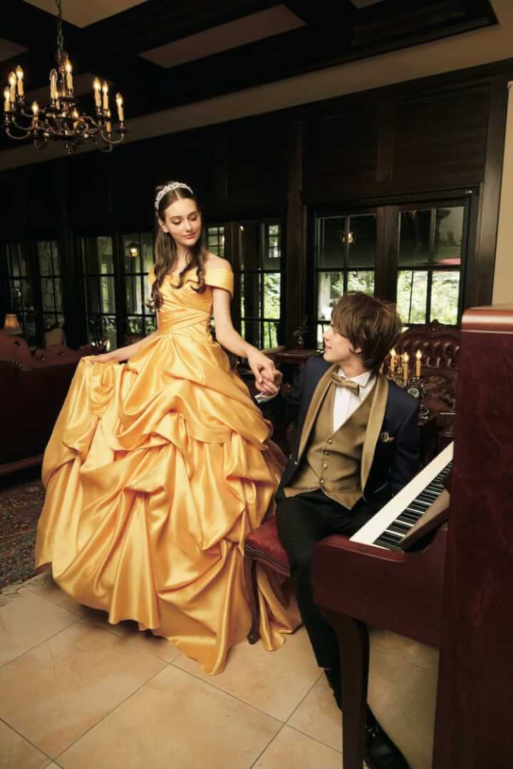 Magical Collaboration Between Walt Disney Japan And Kuraudia Co A Well Known Wedding Dress Manufacture From Altogether The Collection Contains