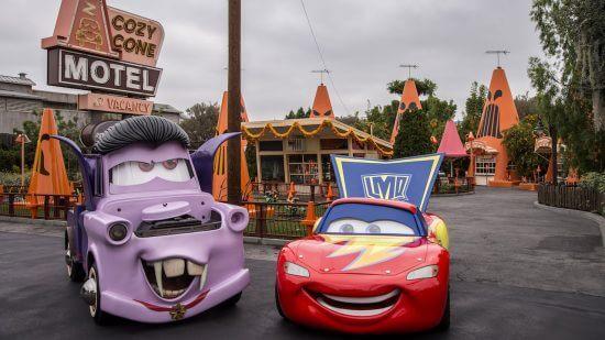 Cars land halloween time