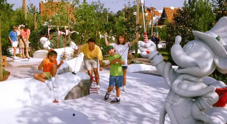 Walt Disney World mini golf