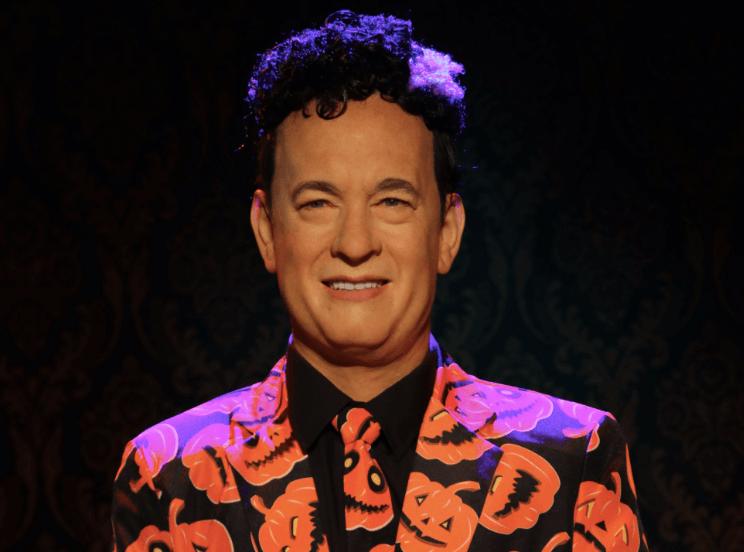 David S Pumpkins Wax Figure Unveiled At Madame Tussauds Orlando