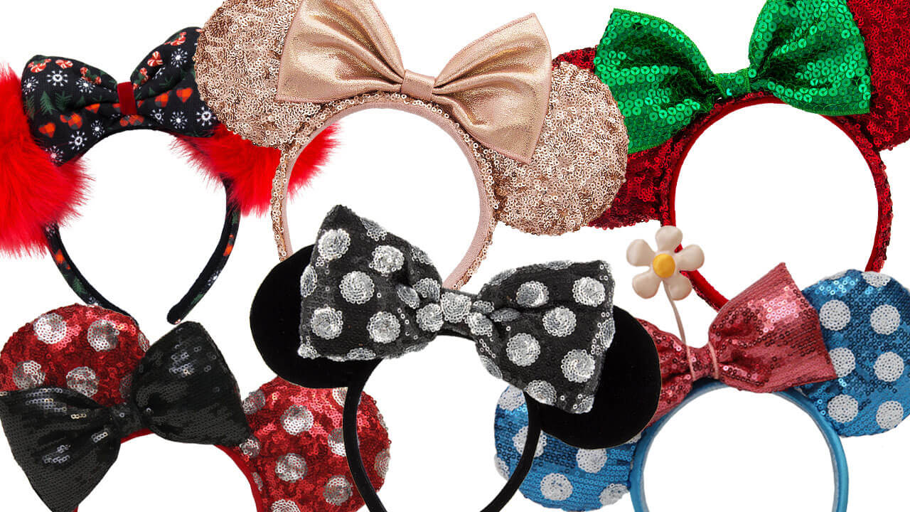 rose gold minnie ears new mouse eared headwear arrive at walt disney world disneyland this. Black Bedroom Furniture Sets. Home Design Ideas