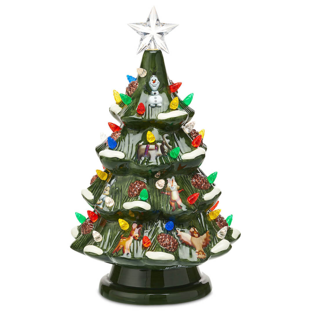 New on shopdisney 10 9 17 5 disney holiday decorations for Animated christmas decorations
