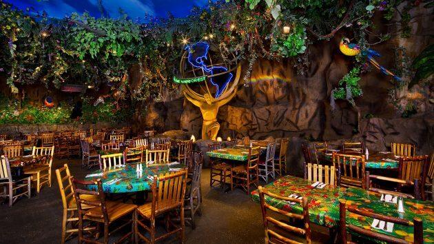 Rainforest Cafe Anaheim Menu Take Out
