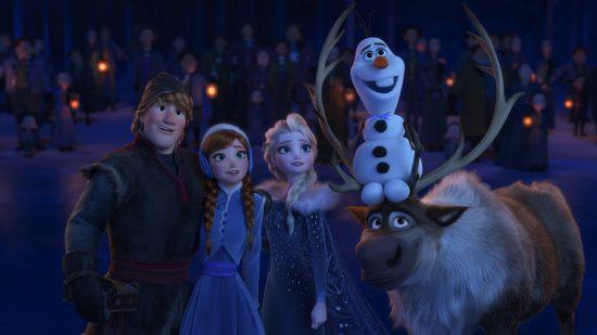 frozen friends olaf's frozen adventure